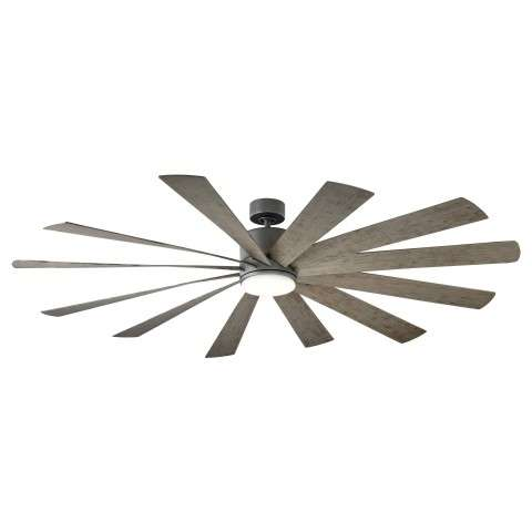 FR-W1815-80L-GH-WG Modern Forms Windflower 80 Inch DC Smart Ceiling Fan