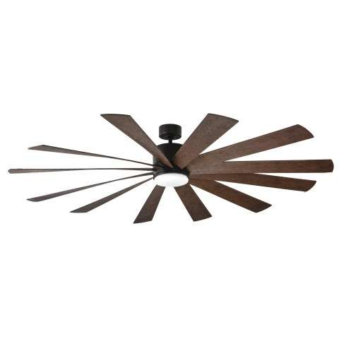 FR-W1815-80L-OB-DW Modern Forms Windflower 80 Inch DC Smart Ceiling Fan