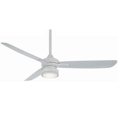 Minka Aire Rudolph Ceiling Fan Model F727-WHF in Flat White