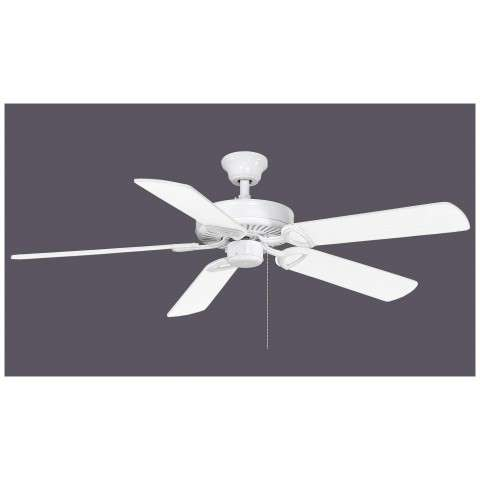 The America USA Ceiling Fan - White Blades