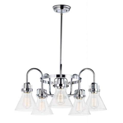 Seafarer 5-Light Chandelier in Polished Chrome