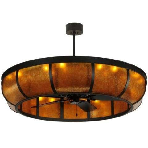 "56""W Prime Dome W/Uplights Chandel-Air"