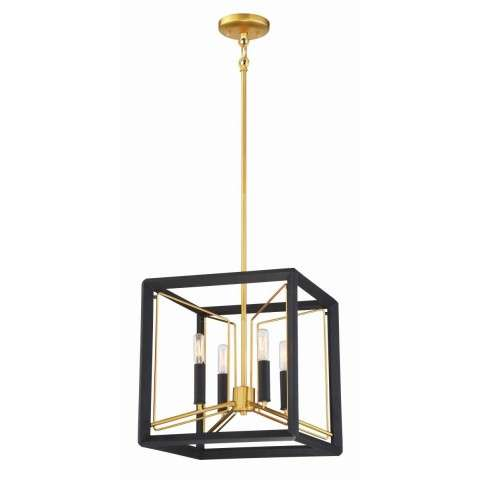 Sable Point 4 Light Pendant