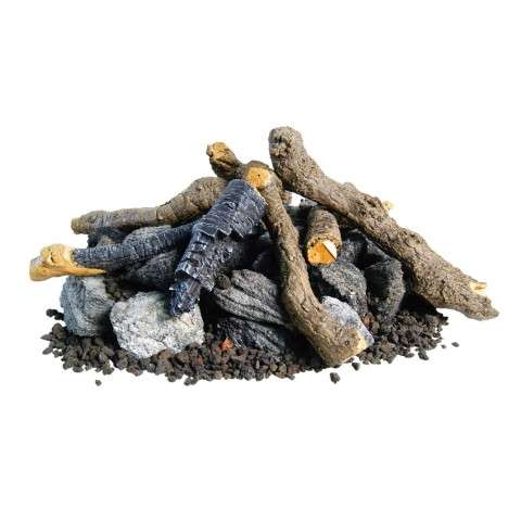 AFD - OCBW-34 Beachwood Logs and Stones for Outdoor Fire Pits