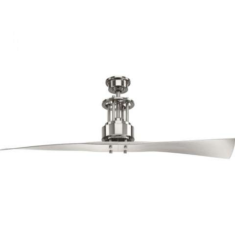 Spades 52 Ceiling Fan In Brushed Nickel