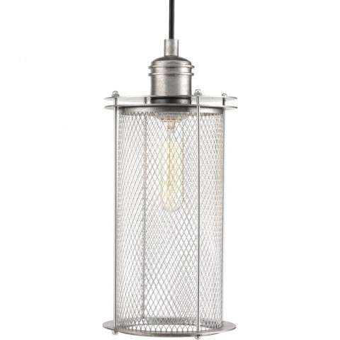 Industrial Collection One-Light Pendant In Galvanized Finish