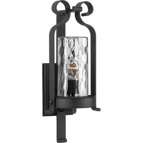 Hermosa Wall Lantern In Black