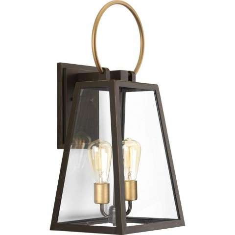 Barnett Wall Lantern In Antique Bronze