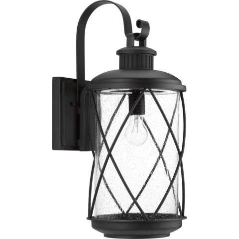 Hollingsworth Wall Lantern In Black
