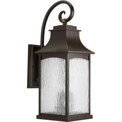 Maison Collection Three-Light Large Wall Lantern In Oil Rubbed Bronze