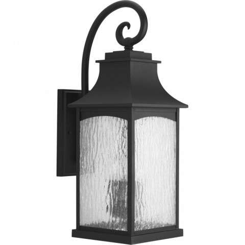 Maison Collection Three-Light Large Wall Lantern In Black