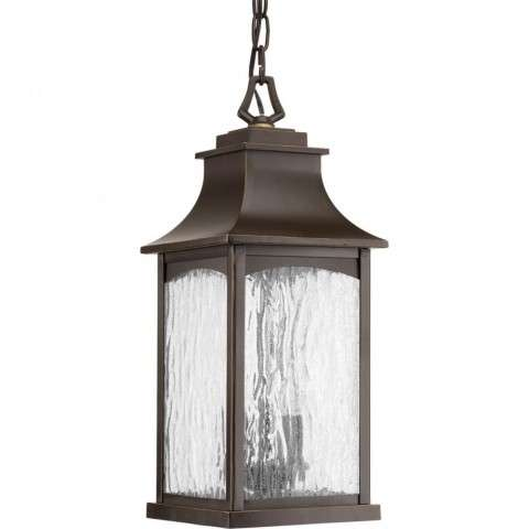 Maison Collection Two-Light Hanging Lantern In Oil Rubbed Bronze