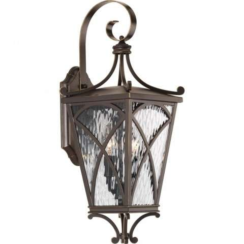 Cadence Collection Two-Light Medium Wall Lantern In Oil Rubbed Bronze