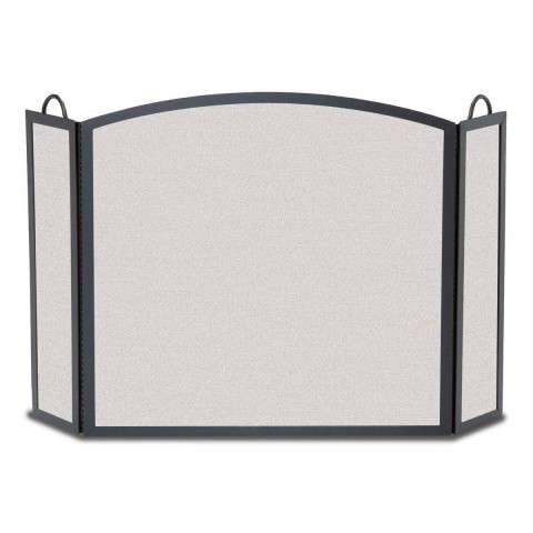 "3 Fold Fireplace Screen - 54"" Wide x 33"" Tall"