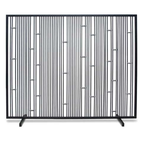 Pilgrim Arden Summer Screen - No mesh - Black with Stainless Steel Accents