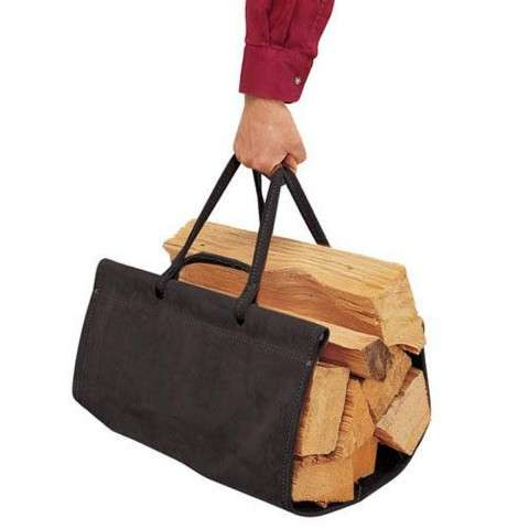 Pilgrim Top Grain Wood Carriers - Black Suede