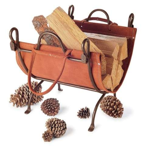 Pilgrim Folding Log Carrier - Burnished Bronze