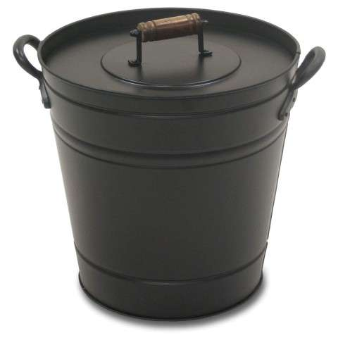 Napa Air Insulated Ash Bucket - Matte Black