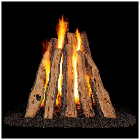 RUSO Rural Split Oak Rumford Gas Logs