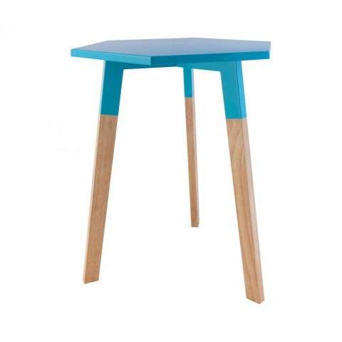 Sky Pad Accent Table In Aqua in Aqua