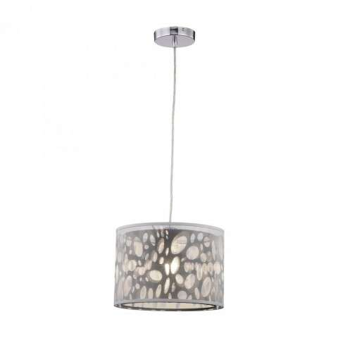 Gala Pendant Lamp in Black w/White