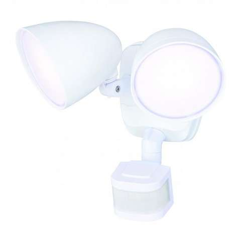 Tau Dualux 3000K LED Security Light - White