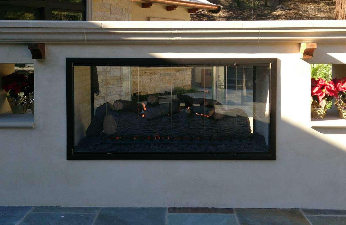 Large Fireplace Doors